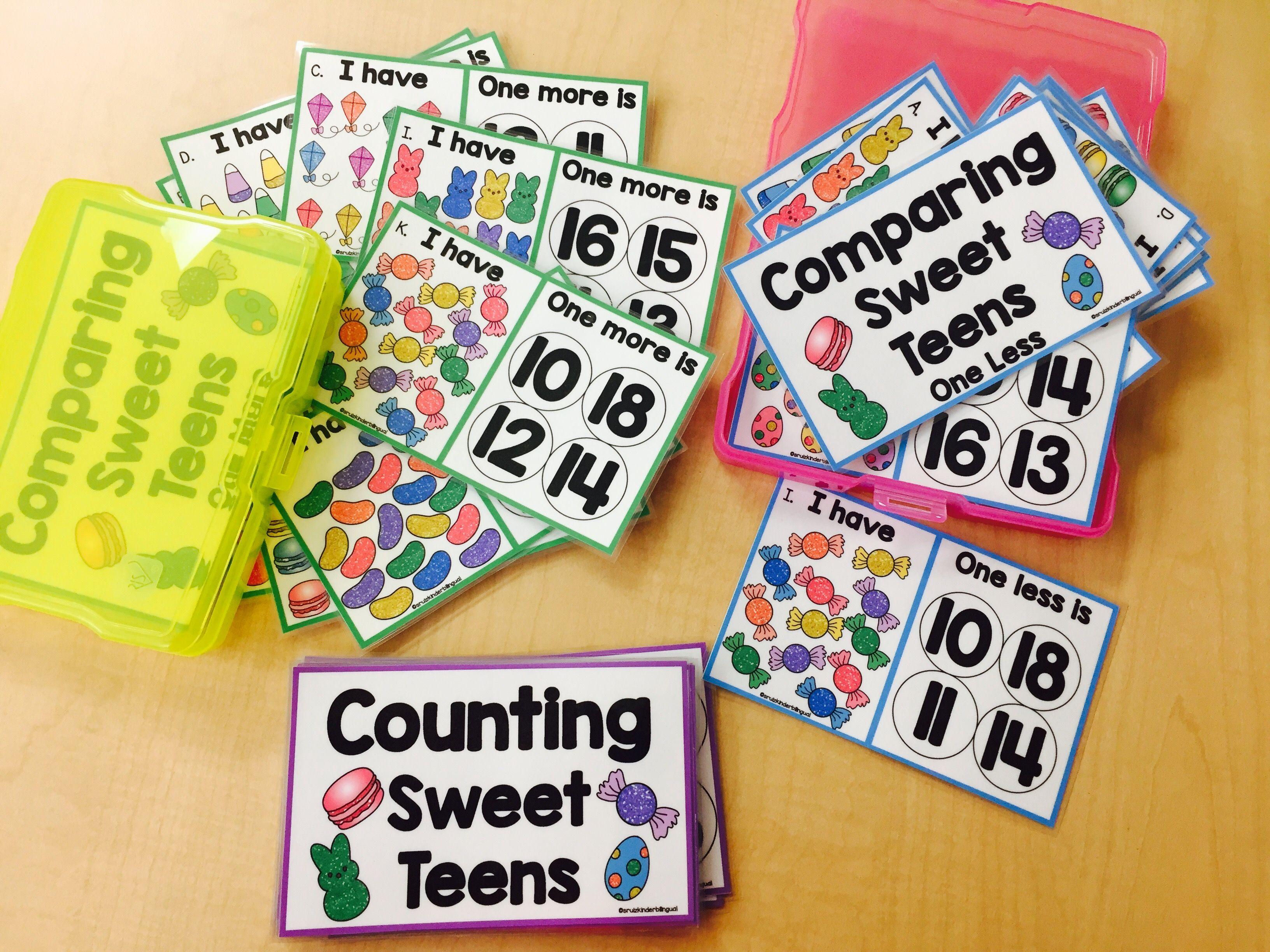 Comparing Sweet Teens Kindergarten