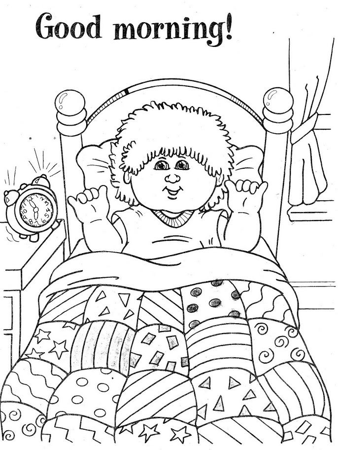 Cabbage Patch Kids | Children\'s Coloring Books ❤♡❤ | Pinterest