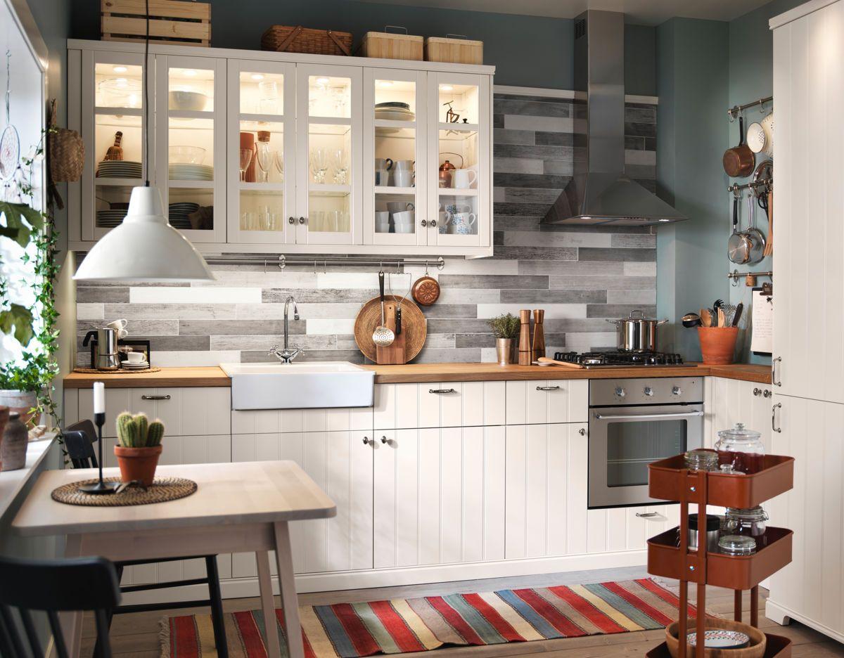 Κουζίνες ΙΚΕΑ BY18 Ikea kitchen, Cuisine ikea, Home