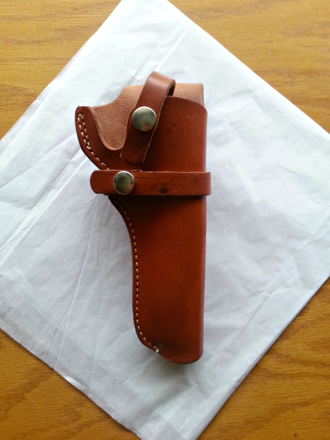 Bucheimer Perfect Fit #20 Brown Leather Holster for Ruger