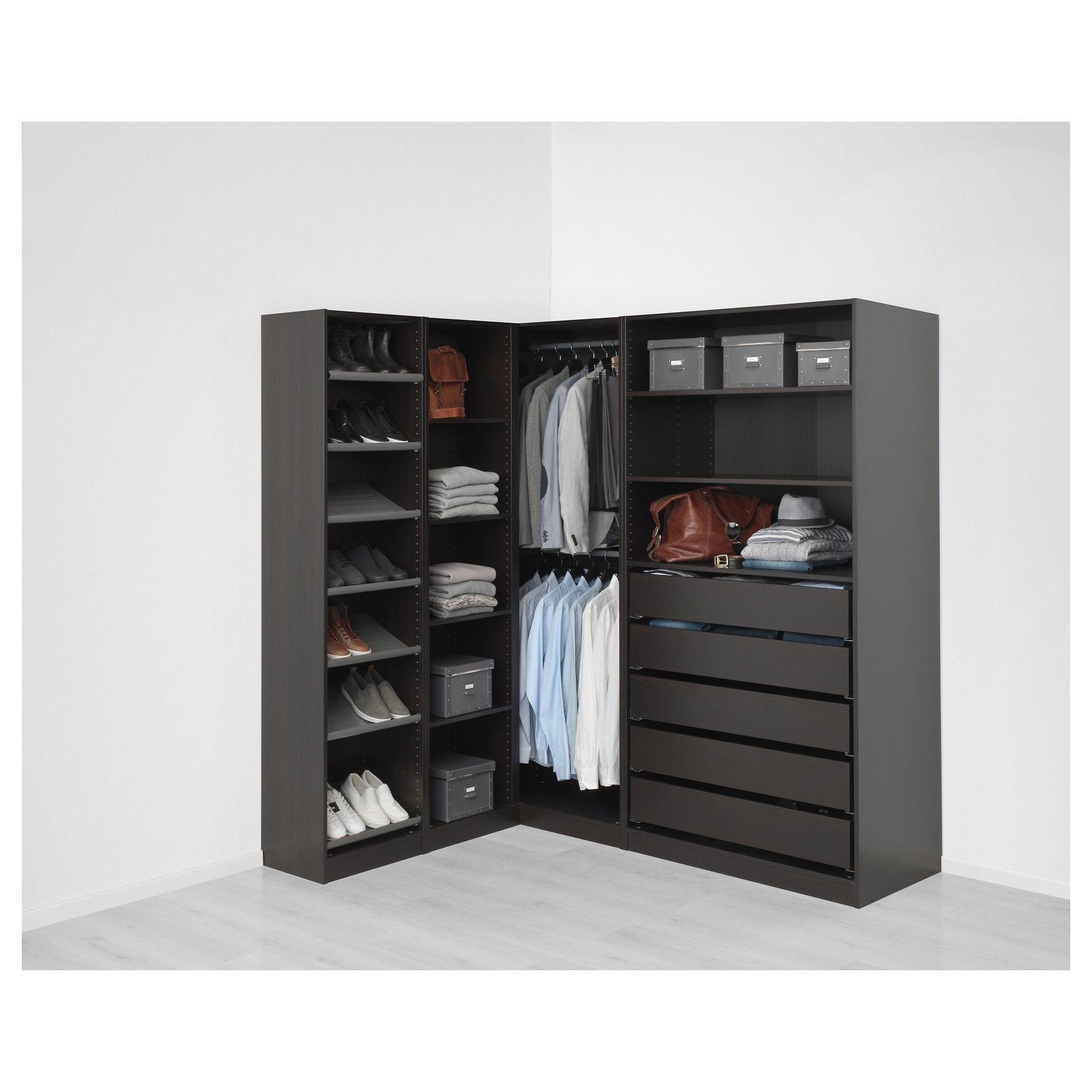 PAX Corner wardrobe blackbrown. IKEA Canada IKEA in