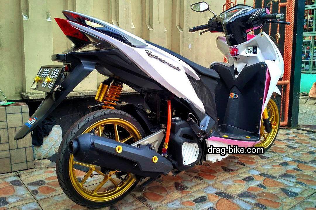 Aksesoris Vario 150 Modif Warna Putih Motor Honda Dan Warna