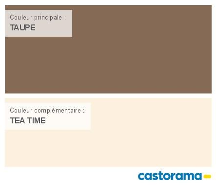 Castorama Nuancier Peinture - Mon Harmonie Peinture Taupe Satin De