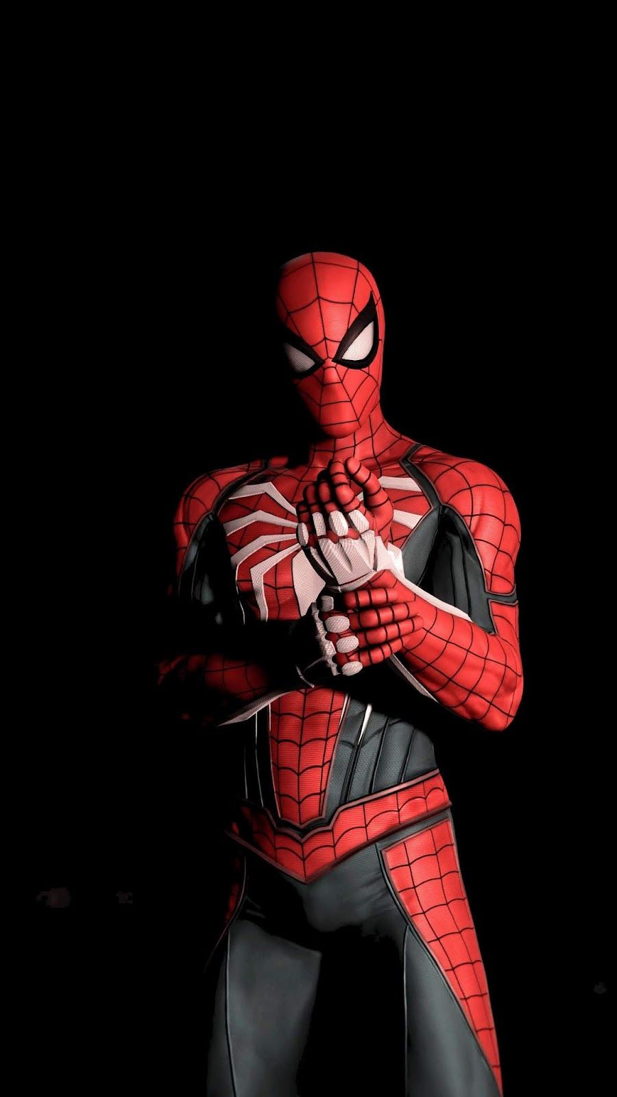 Spiderman Amoled Wallpaper Iphone Android Background Followme Spiderman Marvel Spiderman Spiderman Spider