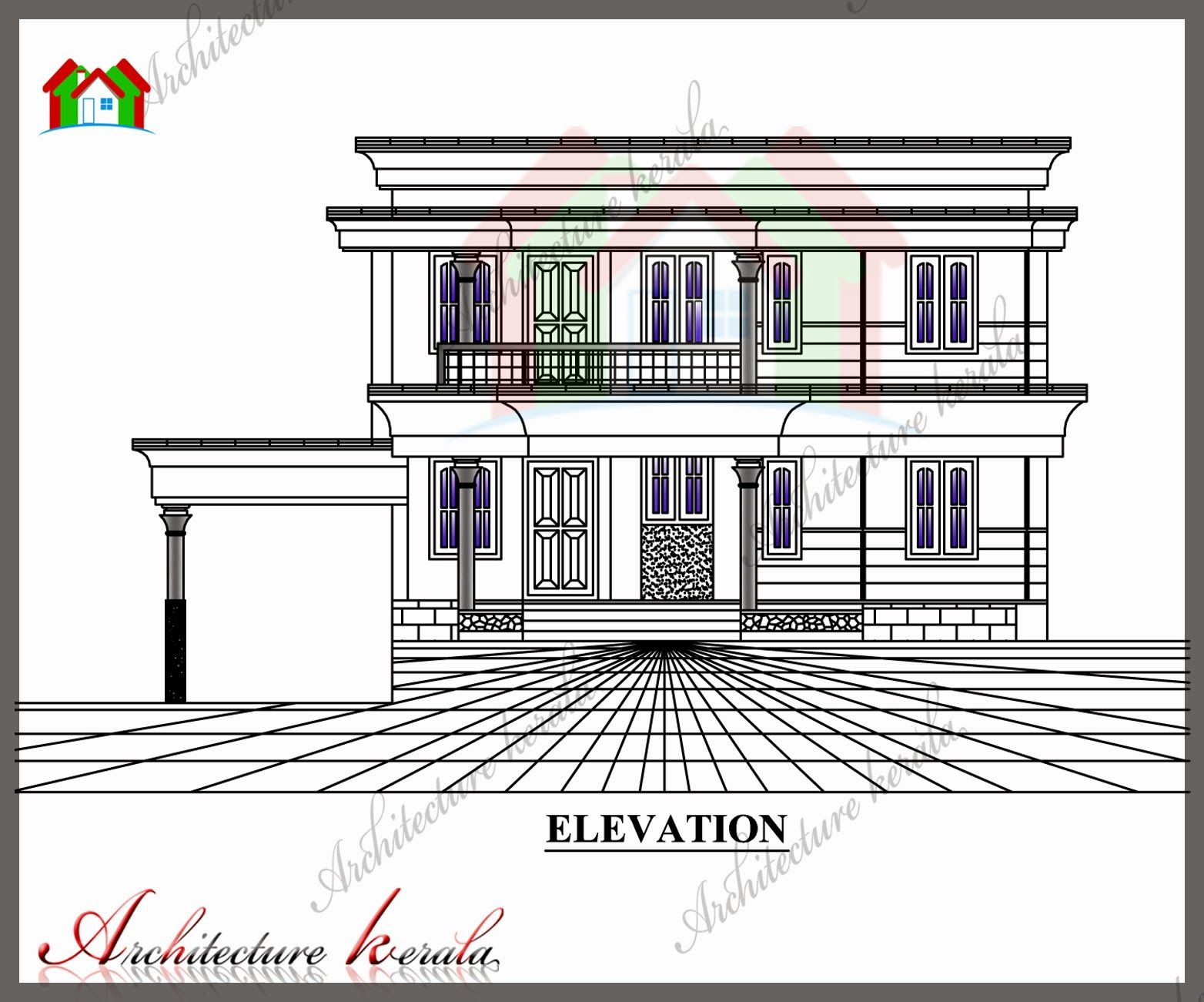 Kerala House Plan With All Room Measurements Detailed House Plan