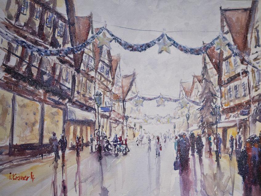 veredit - art©: time for christmas shopping