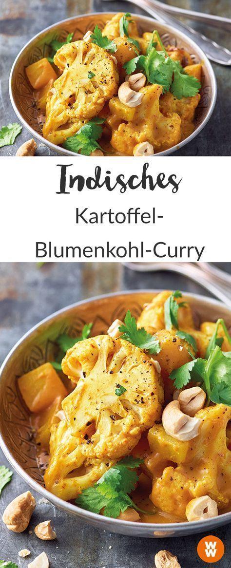 Indisches Kartoffel-Blumenkohl-Curry Rezept | WW Deutschland
