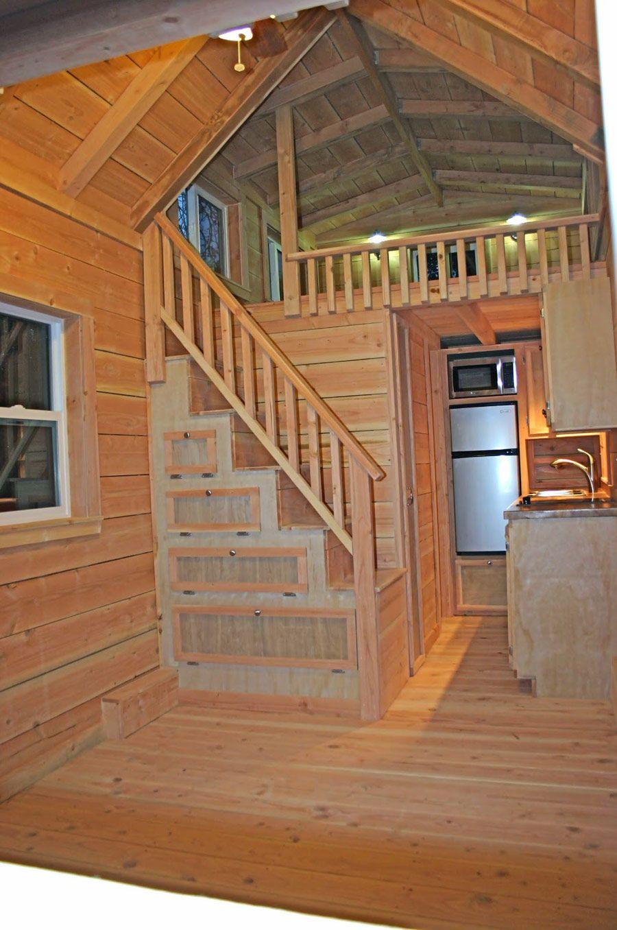 Cape Cod Tiny House Tiny House Loft Tiny House Cabin