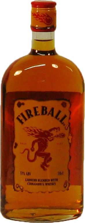 Fireball Liqueur Canada Wine Spirits Wine Merchant Bottle