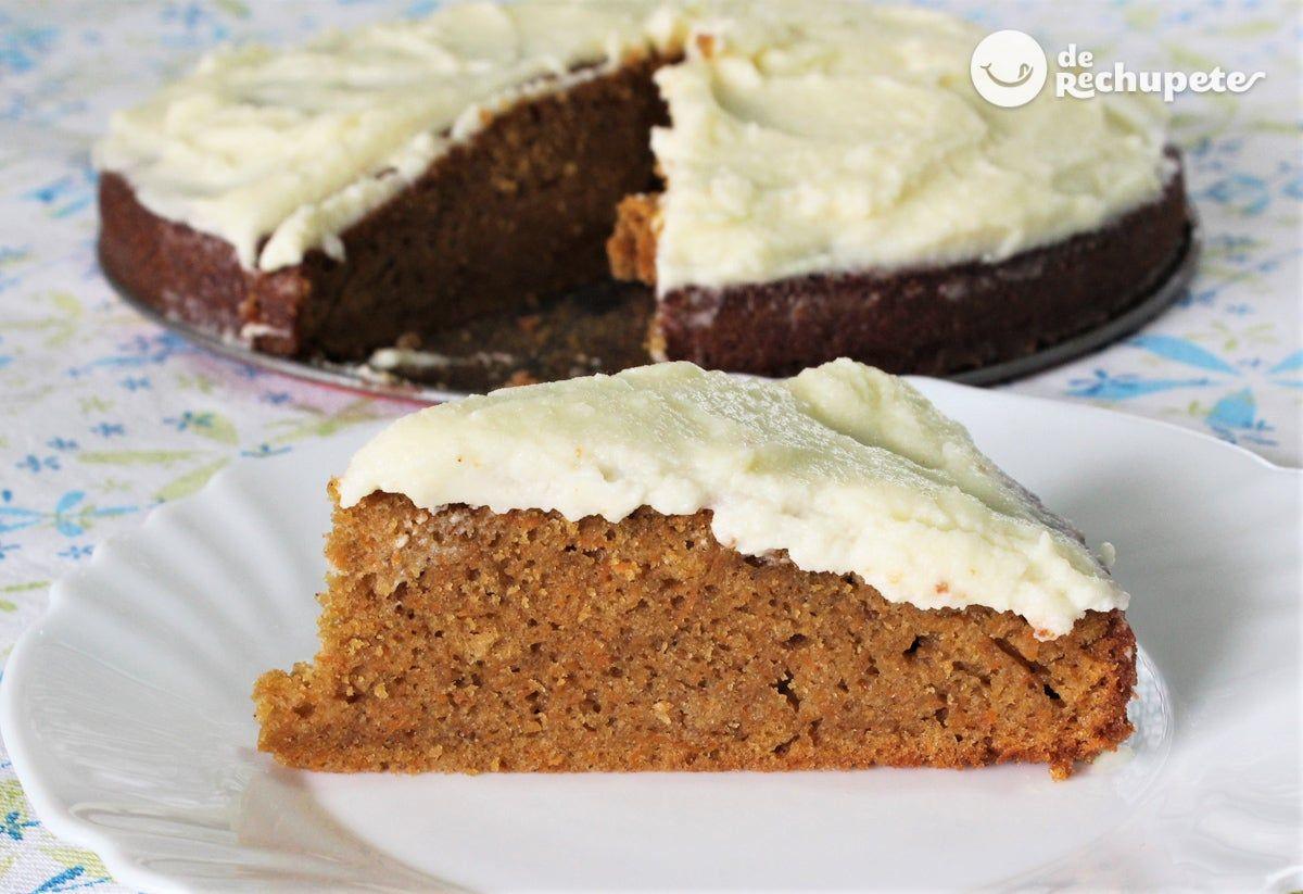 Photo of Bizcocho de zanahoria. Receta fácil para desayunos y meriendas – Recetas de rechupete – Recetas de cocina caseras y fáciles