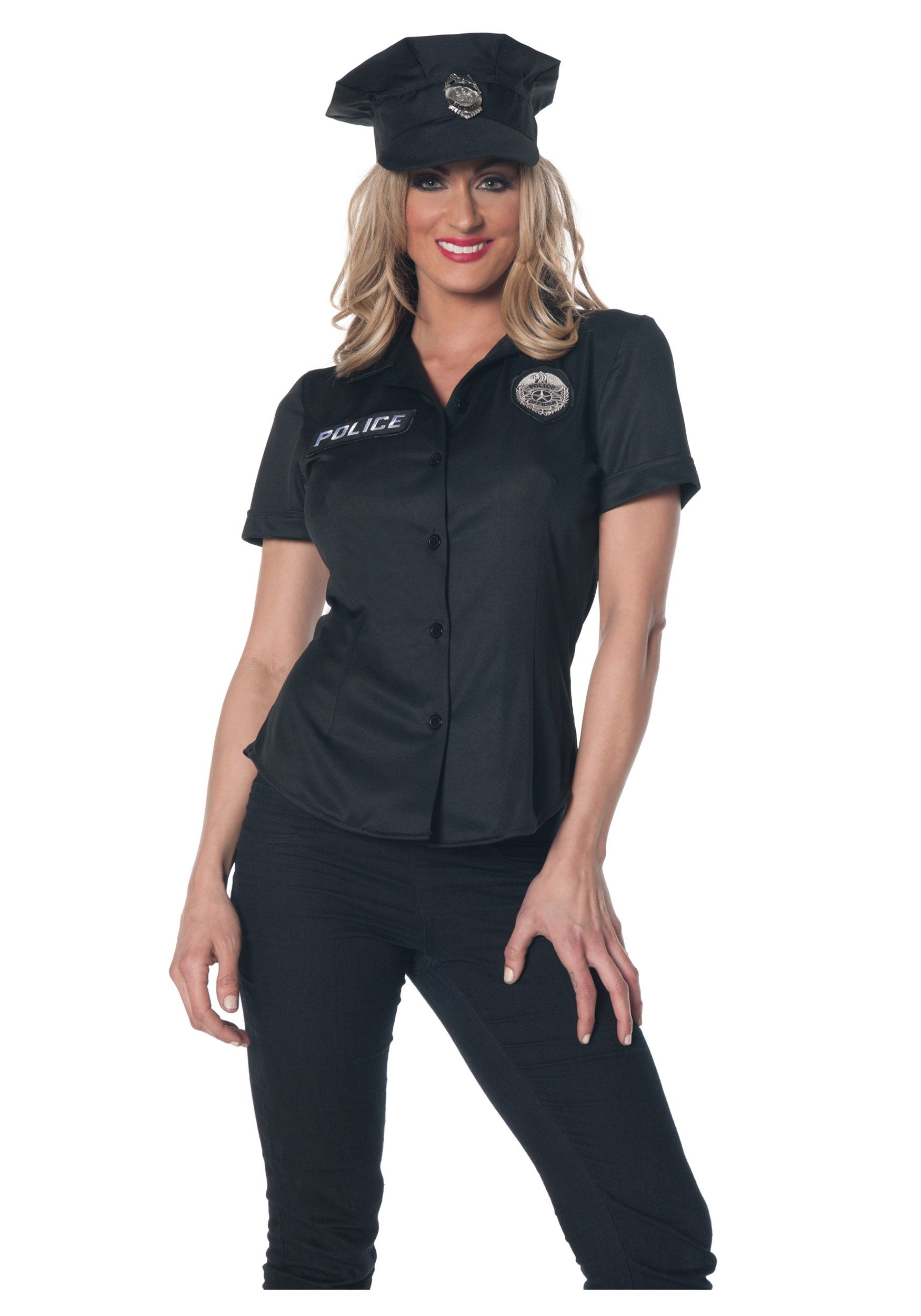 Women\'s Police Shirt Costume | Women Halloween Costumes | Pinterest