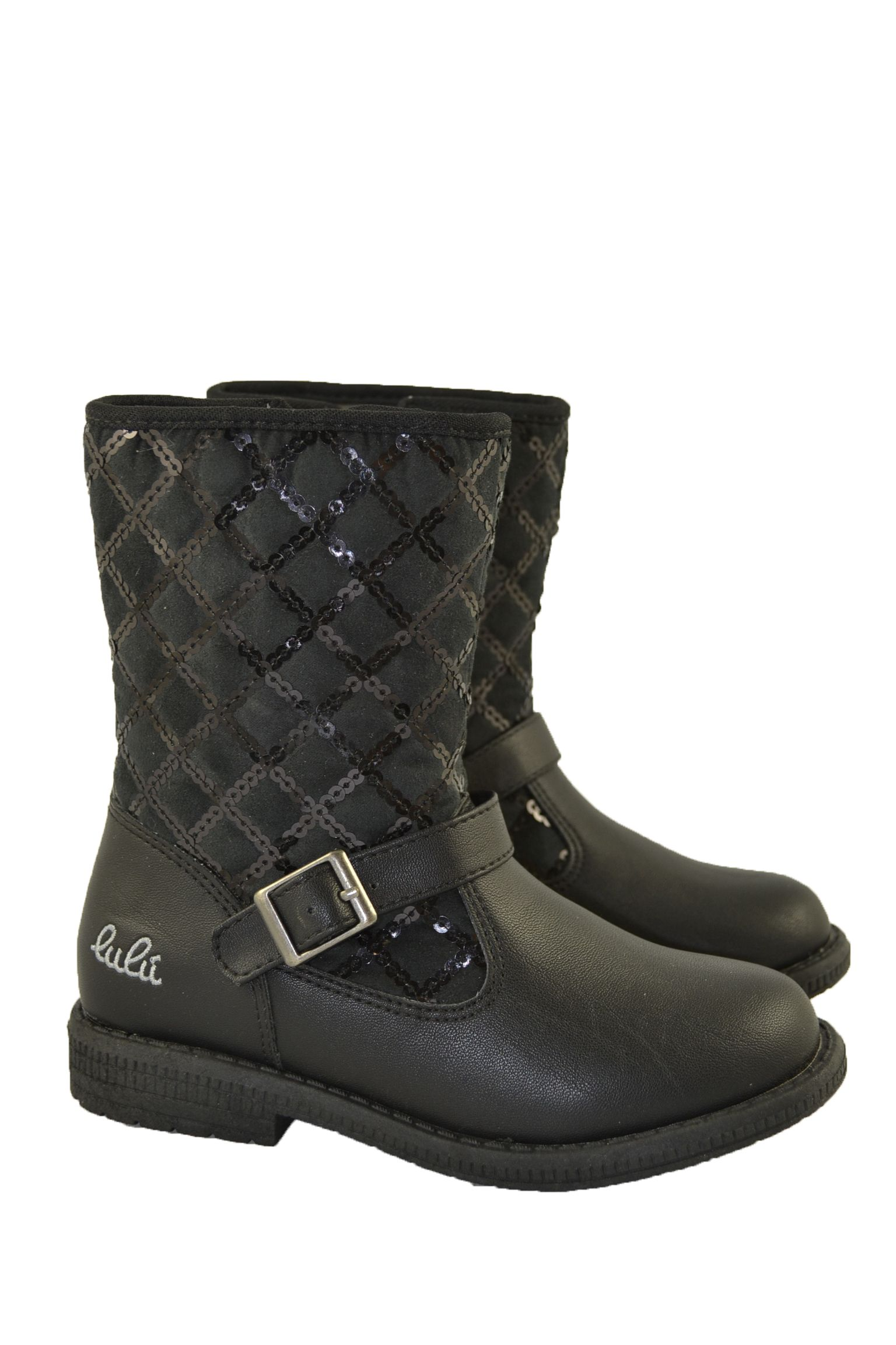 7ffbfdf4 Botas Liz Negras Para Niñas | Shoes | Botas, Botas de niña, Botas ...
