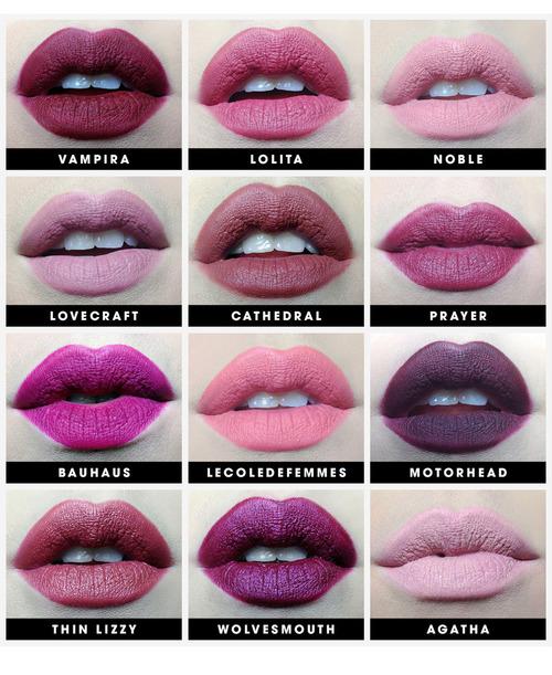 Kat Von D Studded Kiss Lipstick The Classics An Array Of
