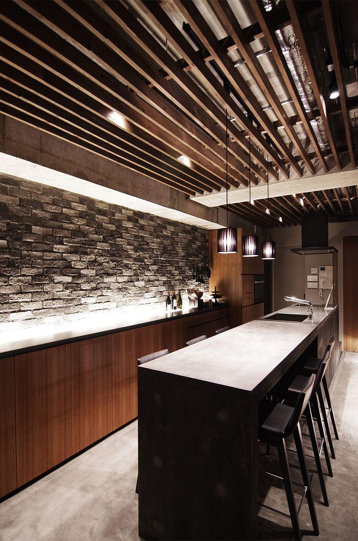 コンクリートキッチン  by EIGHT DESIGN