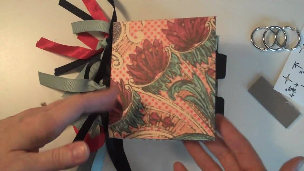 3-Ring Binding for Mini Albums - YouTube