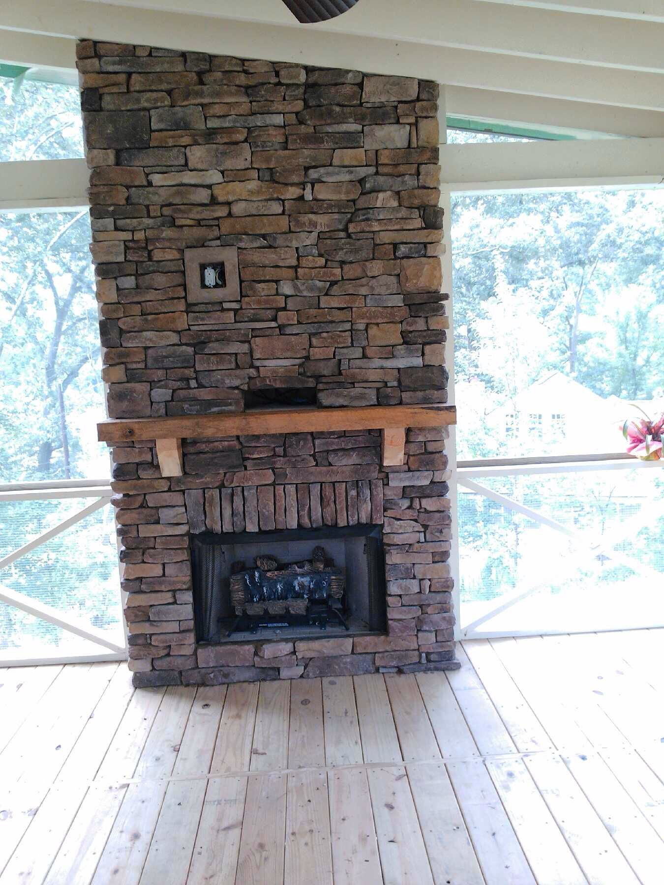 Outdoor Covered Patio With Fireplace Great Addition Idea Dream Dream Dream: Fireplace Remodel, Fireplace, Dream House