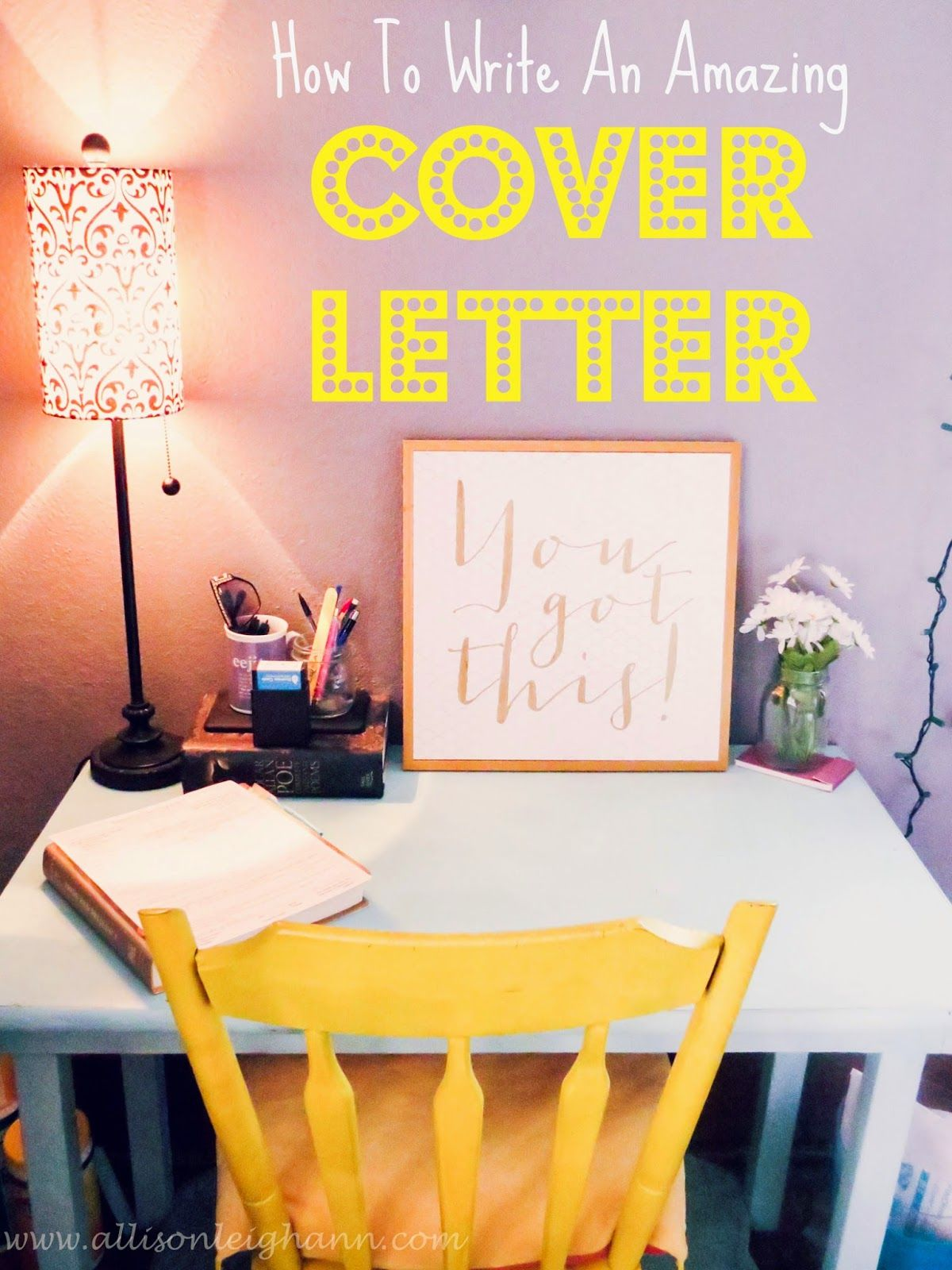 How To Write A Ballin' Cover Letter | Career, College and Life hacks