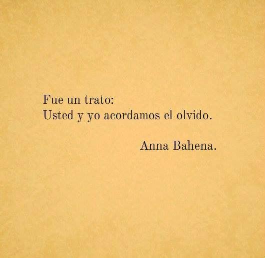 Usted y yo..