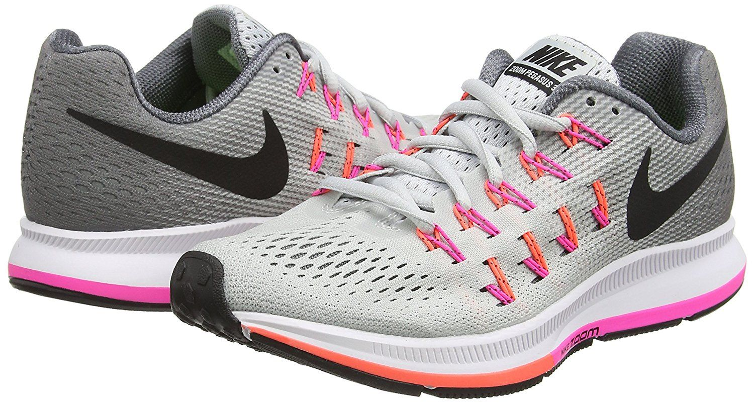 9ba98654824dd Nike Air Zoom Pegasus 33 is one of the best nike running shoes for women  2017. Its cushion midsole provides a plush