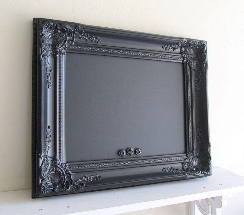 black framed chalkboard vintage style wedding sign magnetic photo booth sign kitchen chalk board black board