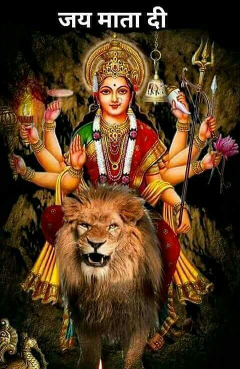 Jai Mata Di Gods 3 Durga Durga Maa Durga Goddess