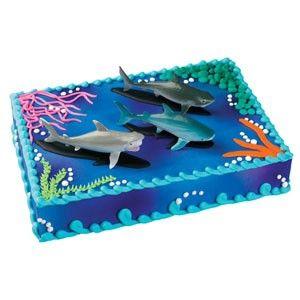 Shark Cake Simple Yet Cute