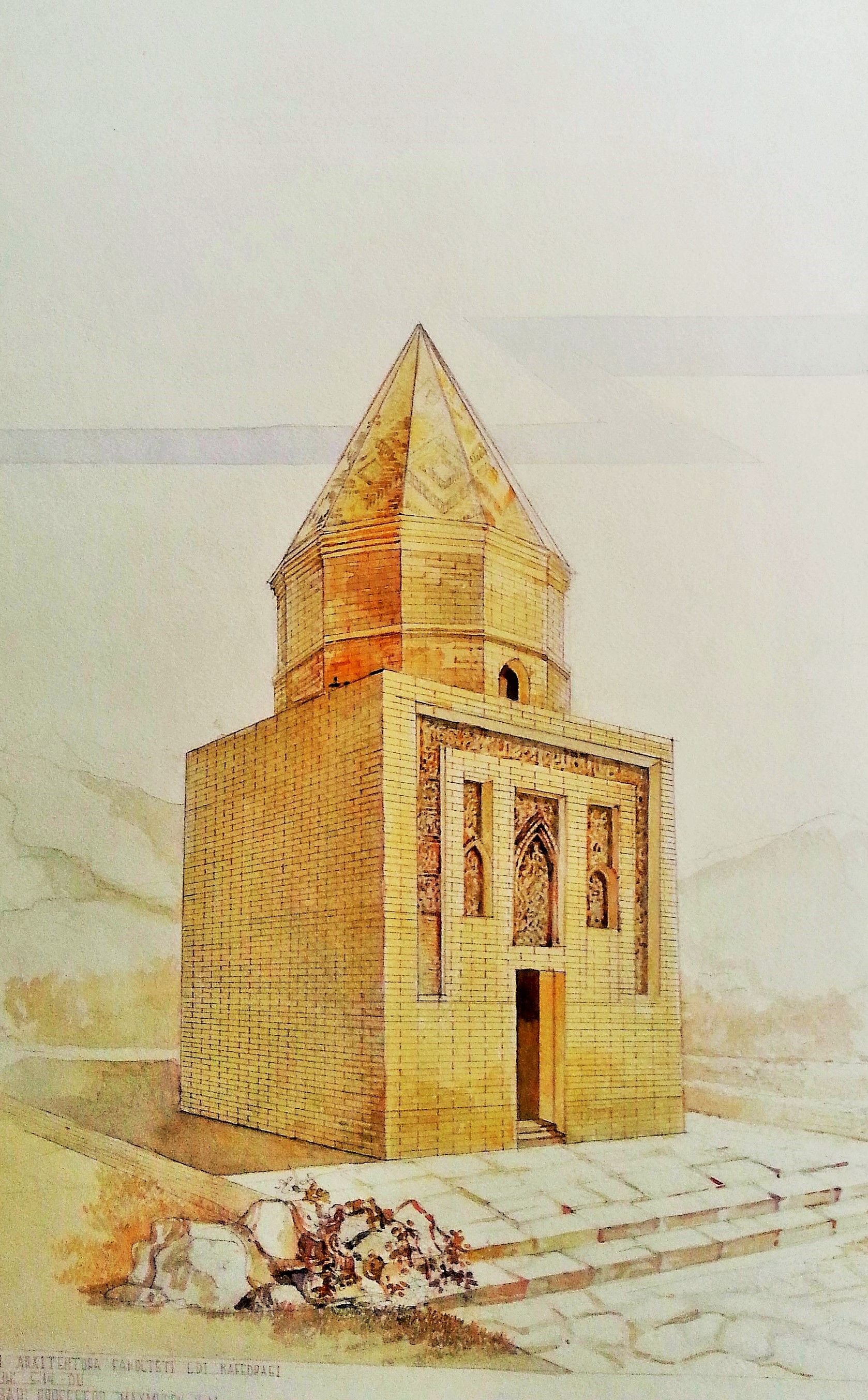 sketch___ Fakhriddin Rozi Maqbarasi