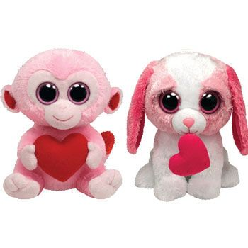 I Am A Sucker For These Valentines Stuffed Animals   Valentine Plush Animals