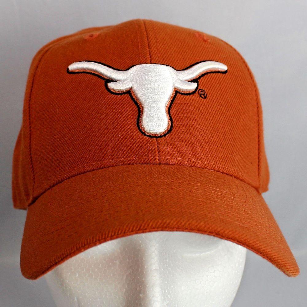 63e076b1bff30 Texas Longhorns Fitted Ball Cap Burnt Orange Sz 7 NCAA  CreationofDemand   TexasLonghorns