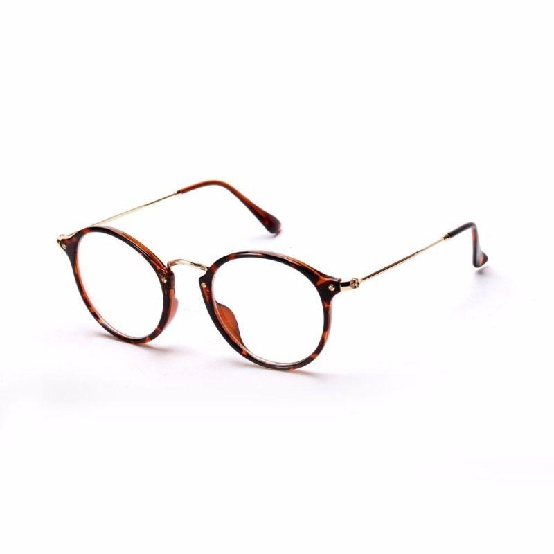 41bb6e980 armação óculos de grau acetato redondo masculino feminino ia   meu ...