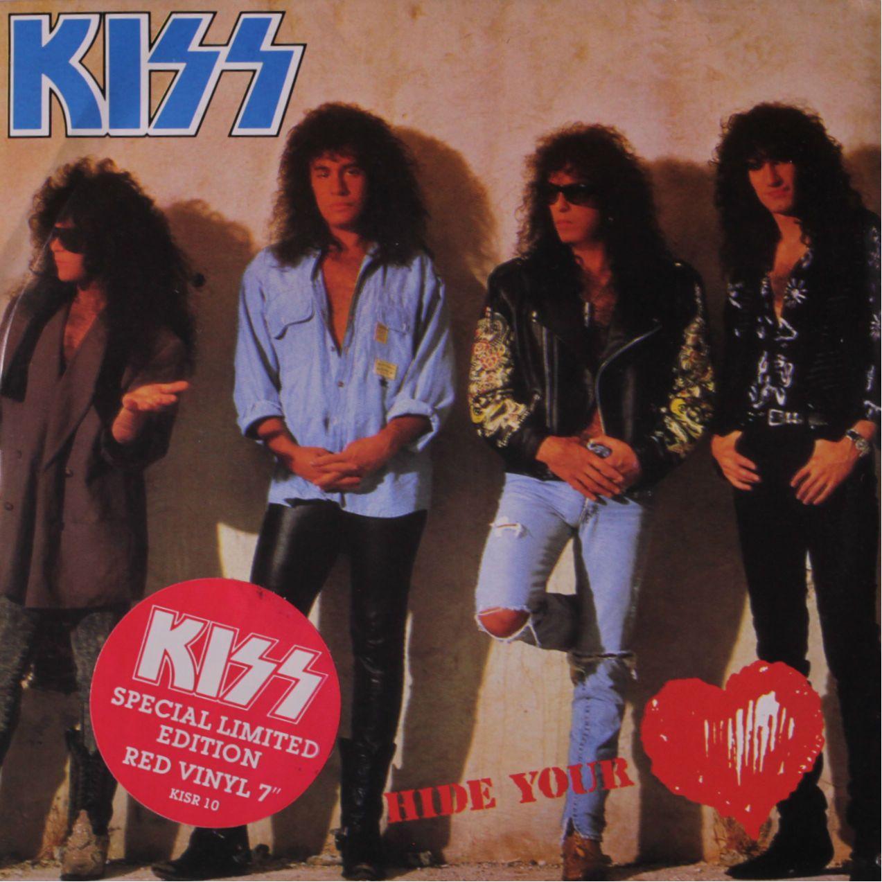 KISS 45 RPM Cover