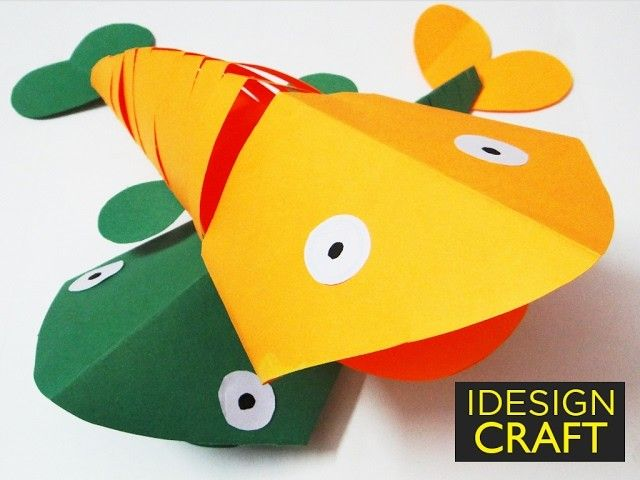 How To Make 3d Origami Fish Step By Step Origami Fish 3d Origami