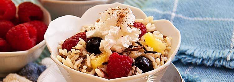White & Wild Rice Dessert | Twice baked potatoes, Rice ...