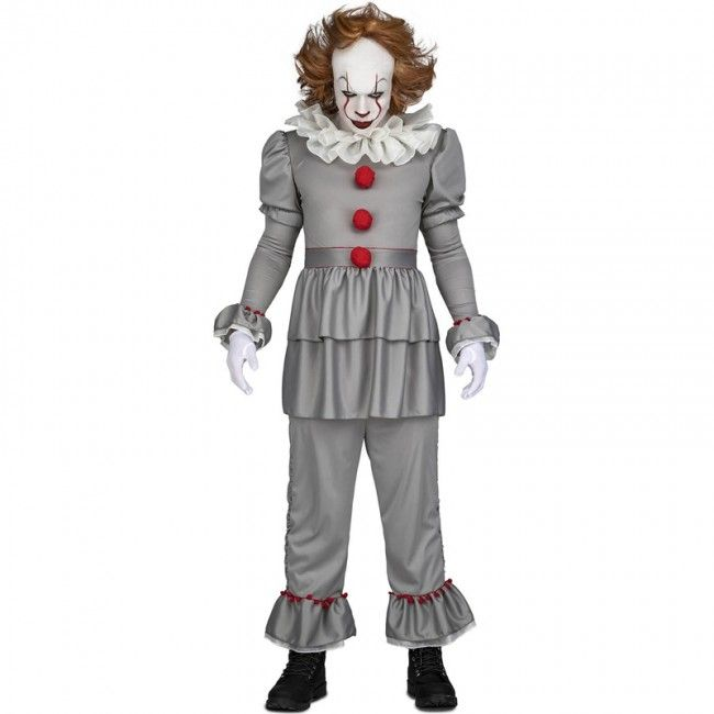 Quatang Gallery- Disfraz De Payaso It Pennywise Para Hombre Deguisement Clown Deguisement Horreur Deguisement