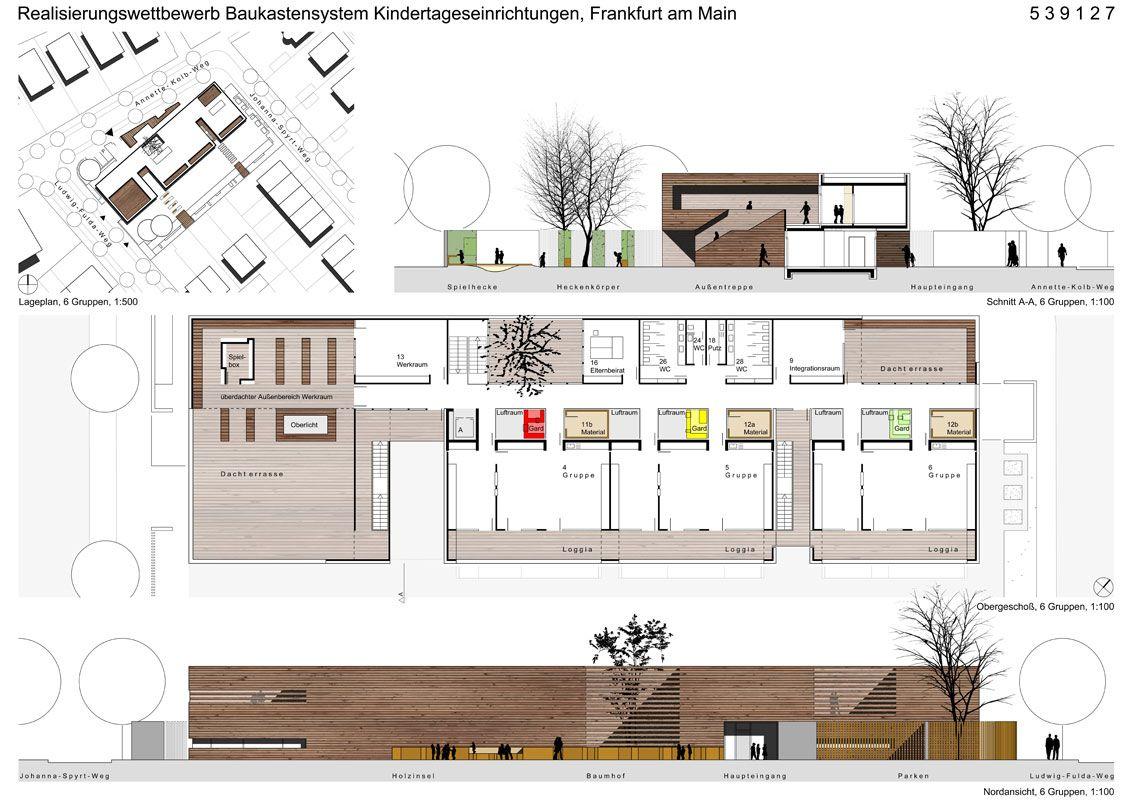 Kindertagesstätten by raumz architekten Frankfurt