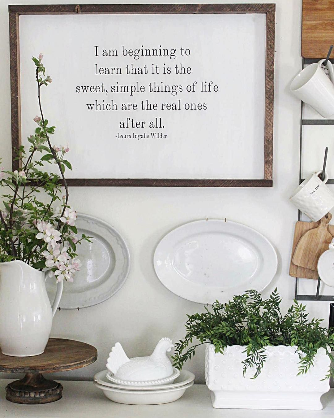 Like the saying on the wall we bought a house pinterest walls