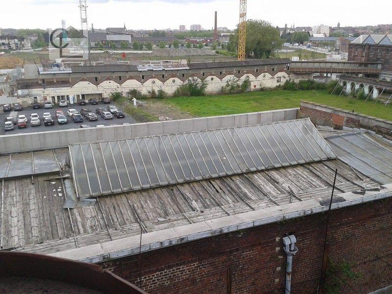 Tourcoing. Vue aérienne depuis la chaufferie de la #tossée. #diagnosticsimmobiliers #nord #tourcoing #ecoquartierunion lucarre.com
