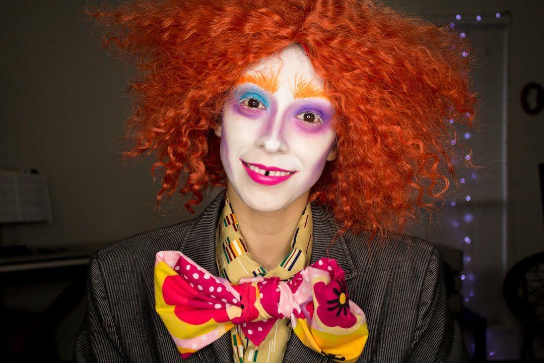 Halloween Makeup Tutorial Alice In Wonderland's Mad Hatter
