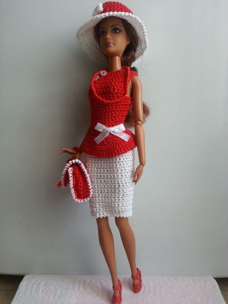 vêtement poupée mannequin Barbie (281) | Knit & Crochet: Barbie\'s ...