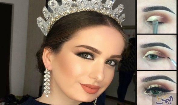 أساليب تطبيق مكياج عروس خفيف بألوان الربيع Ear Cuff Crown Jewelry Jewelry