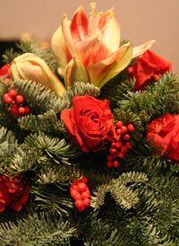 Christmas decoration - Xmas centerpiece - Elisabetta Pozzetti