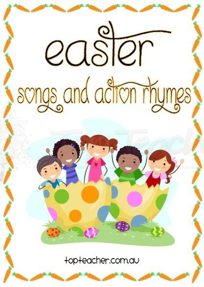 Easter Songs For Kids: Set Of Easter Songs And Action Rhymes. Perfect For Use