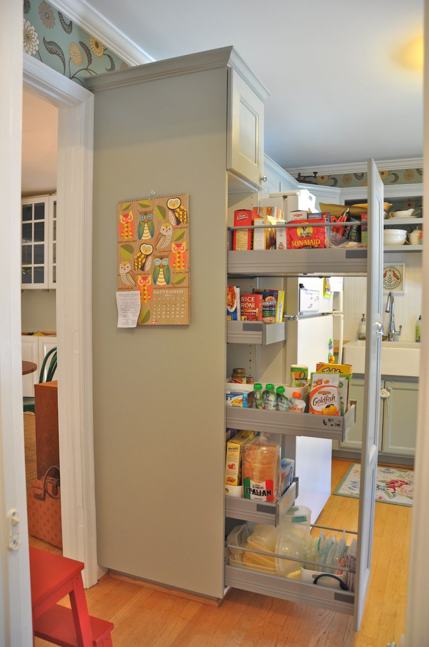 Before And After Kitchen Pantry Storage Home House Design