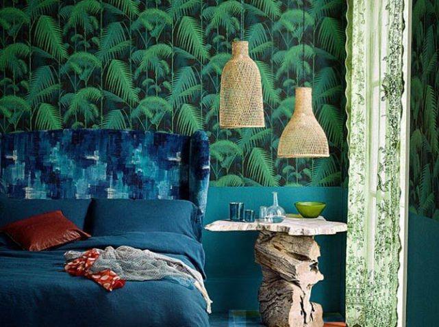 Notre sélection de papiers peints pour une chambre tendance - Elle Décoration   Papier peint ...