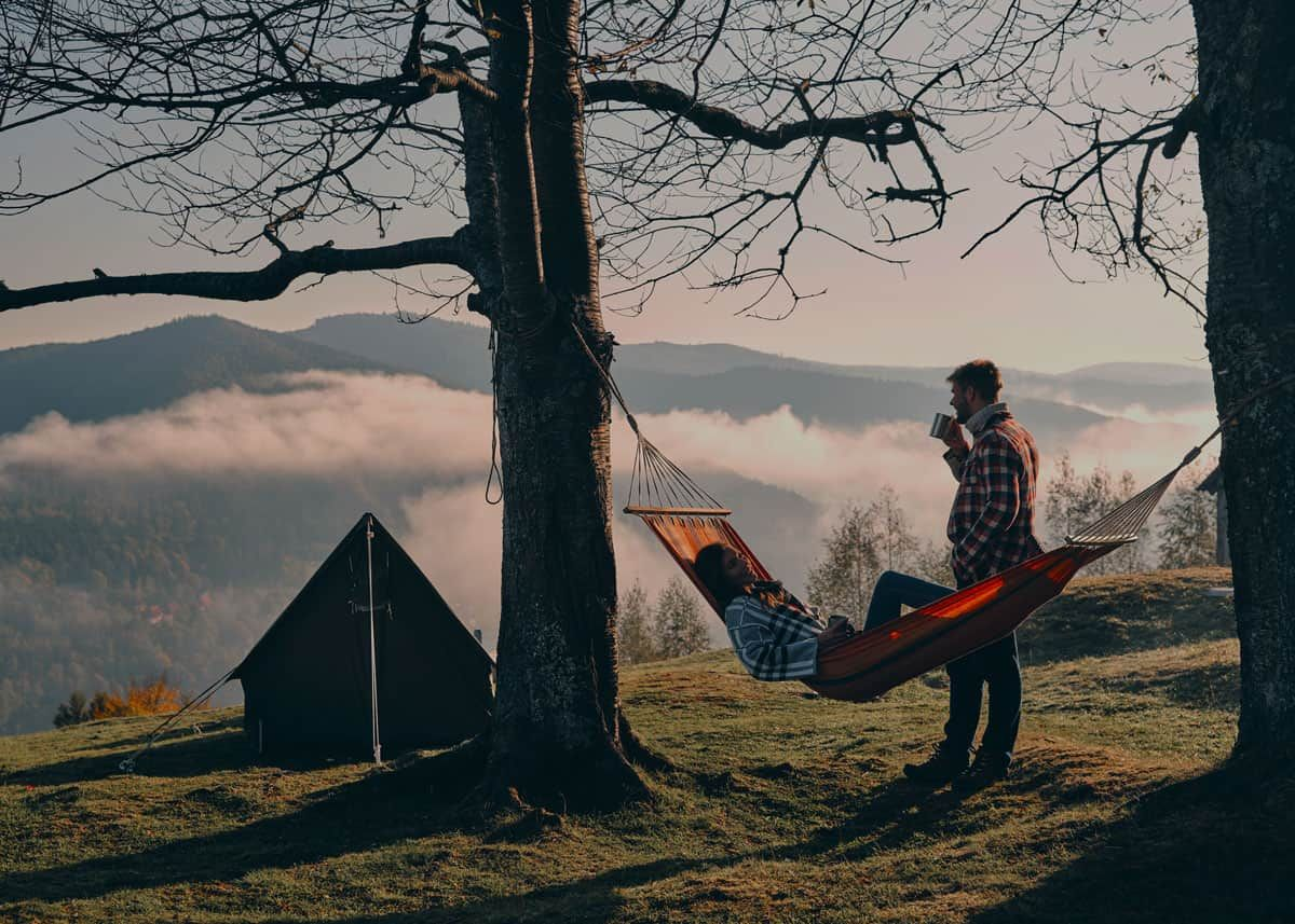 Ultimate guide to camping with a hammock hang gear pack sleep