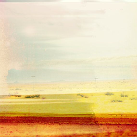Minimalist Abstract New Mexico Landscape, Modern Wall Art, Minimal ...