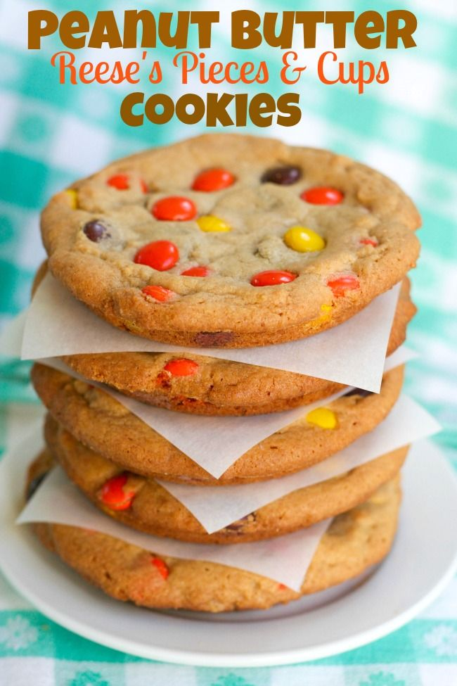 Reese's Peanut Butter Pieces & Cups Cookies