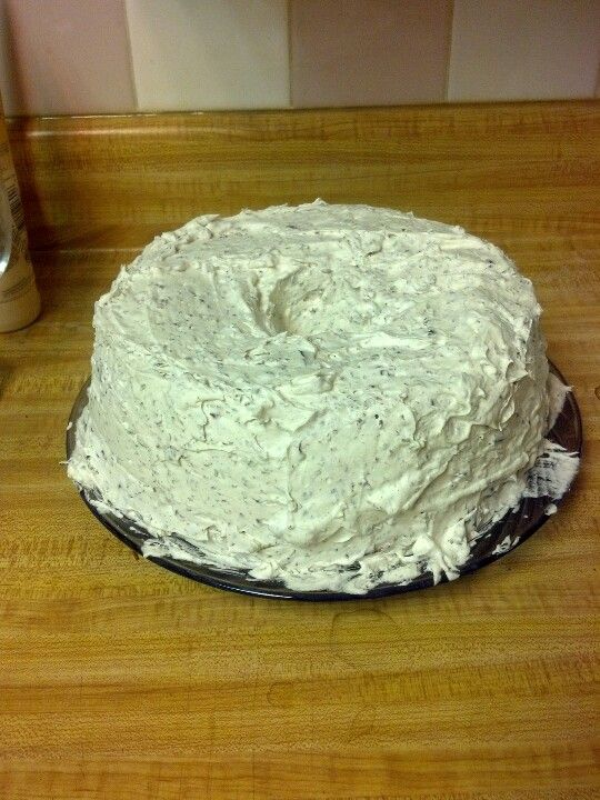Angel Food Cake Icing With Cool Whip