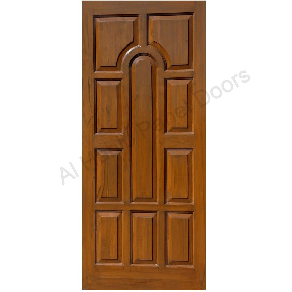 Solid Diyar Wood Door Hpd421 - Solid Wood Doors - Al Habib Panel ...