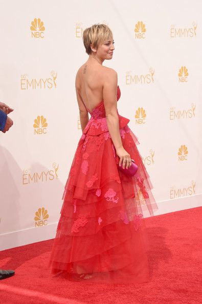 Kaley Cuoco Photos: Arrivals at the 66th Annual Primetime Emmy Awards — Part 2